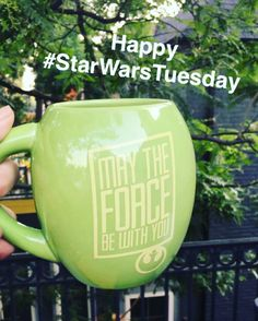 Every #Tuesday is a #HighHolyDay ... #StarWarsTuesday ! #starwars #coffee #nerdalert #colorado #miaonthego #wanderlust #tuesday #travelblogger #caffeine #motivation #womenwhotravel #hydrate #inspired