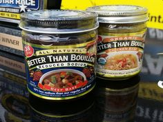 Can you guess where these Better Than Bouillon jars were in this photo? Hint: 10 Days of Thunder!