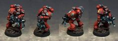 Blood Angels, Heavy Bolter, Space Marines, Warhammer 40,000