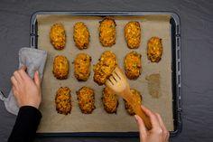Frisch aus dem Ofen: Low-Carb Rösti-Happen!