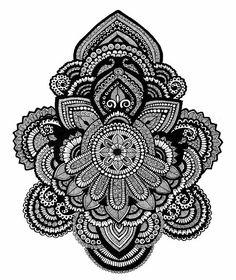 #blackandwhite #pen #pencil #doodle #mandala #drawing #zentangle #onlyblackart…
