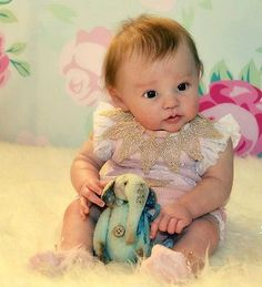 D819 Lovely Reborn Baby Doll Child Friendly H 22 inch Tailor Made