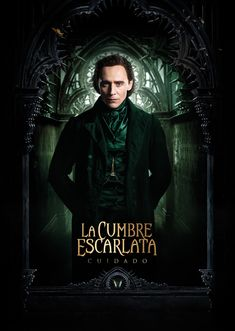 tom hiddleston | Exclusiva: El nuevo poster de CRIMSON PEAK tiene a Tom…