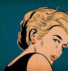 Girl with Red Earring by Joe McDermott
