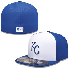 f4d468d95c6 Kansas City Royals Youth Home Batting Practice 59FIFTY Hat by New Era  59fifty Hats