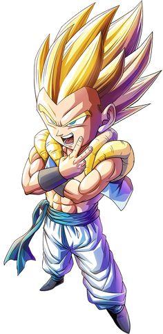 Gotenks SSJ render 2 [Bucchigiri Match] by on DeviantArt Dragon Ball Z, Foto Do Goku, Goten Y Trunks, Goku Vs, Dbz Gohan, Dbz Characters, Anime Child, Cool Art Drawings, Batman Art