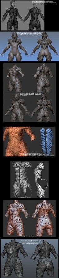 slipgatecentral NOX Character Modeling, 3d Character, Character Concept, Concept Art, Tutorial Zbrush, 3d Tutorial, Sculpting Tutorials, Modelos 3d, 3d Mesh