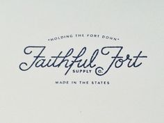 New Type & Lettering Inspiration | From up North