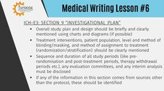 The overall study plan and design (e.g., parallel, crossover), study population, treatment interventions, outcome variables etc. should be clearly mentioned in #ClinicalStudyReports‬. A medical writer must have good understanding of all the sections of ICH-E3 guidelines to write clinical study reports. #TSDP‬ provides #RegulatoryMedicalWritingTraining‬ for preparation of clinical study reports.