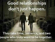 They take time
