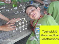 Toothpick & Marshmallow building