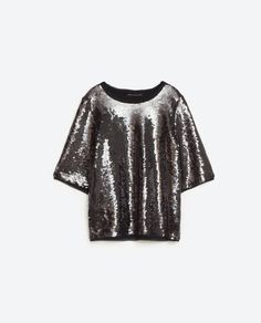 Image 8 of SEQUINNED TOP from Zara