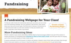WHAT'S ABOUT: Schools Fundraising WHO: Heiffer WHY IS INTERESTING: Enabling schools to create their own fundraising campaigns