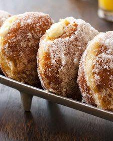 Flour Bakery-Vanilla Creme Filled Donuts