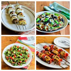 Kalyn's Kitchen®: South Beach Diet Phase One Recipes Round-Up for July 2013 (Low-Glycemic Recipes)