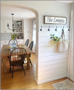 Who else is thinking about about a shiplap entry? , Who else is thinking about about a shiplap entry? Who else is thinking about about a shiplap entry? Always wanted to learn how. Decoration Entree, Decoration Bedroom, Room Decorations, Home Decoration, Easy Home Decor, Home Decor Items, Diy Home Decor On A Budget, Home Decor Shops, Home Decor Styles
