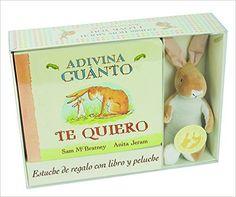 Adivina Cuanto Te Quiero (+Peluche): Amazon.es: Sam McBratney, Anita Jeram, Esther Rubio Muñoz: Libros