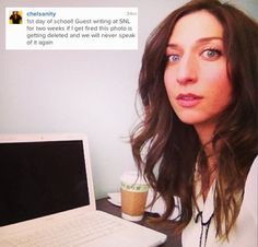 Chelsea Peretti Is Guest Writing On SNL!