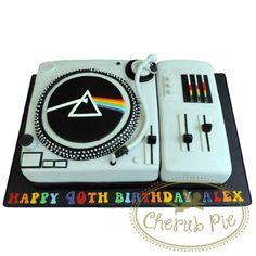 Pink Floyd Record Player Cake - Cherub Pie