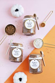 Pumpkin Spice Sugar Scrub DIY