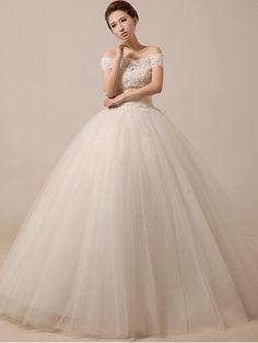 Off Shoulder Lace Prom Debutante Ball Gown Dress   JoJo's Dress Shop