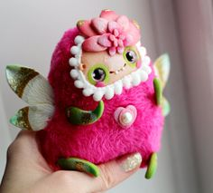 fairy doll fantasy pixie toy fairy figurine pixie от LullabyForFox