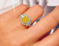 Brand New Diamond & Gemstone Jewellery Made to Order Yellow Diamond Engagement Ring, Gold Diamond Rings, Diamond Gemstone, Gemstone Jewelry, Gold Jewelry, Diamond Earrings, Gold Rings, Fine Jewelry, Jewelry Shop