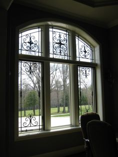 Sullivan Wrought Iron Window Treatment