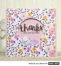 Thanks Shaker Card: