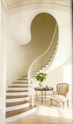 curvy staircase <3