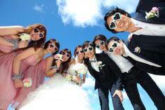 ブライズメイド&アッシャーとビーチフォト(空) - ブライズメイド&アッシャーと海外挙式ビーチフォト♡アイディア・写真の画像集