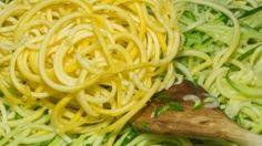 Veggie Noodle Recipe with Hemp Oil & Hemp Hearts