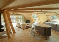 Domespace, une maison en bois qui tourne avec le soleil                                                                                                                                                                                 Plus