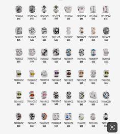 Pandora Catalogue, Pandora Collection, Pandora Bracelet Charms, Pandora Jewelry, Charmed, Collections