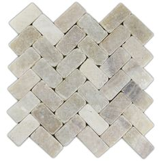 Mixed Quartz Herringbone Stone Mosaic Tile - Subway Tile Outlet - fireplace hearth