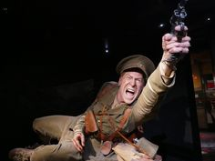 Gallipoli The Scale of Our War exhibit by Weta Workshop at Te Papa Museum in Wellington, New Zealand