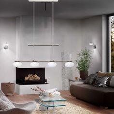 LED 24W Ceiling Hanging Pendant Lamp living room Kitchen Light Height Adjustable