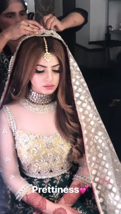 Beautiful Mehndi Bride by Sadaf Farhan