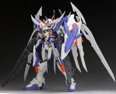 Custom Build: HGBF 1/144 Wing Gundam Zero Honoo Vicsteer - Gundam Kits Collection News and Reviews