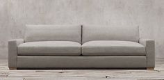 Maxwell Sofa | Restoration Hardware | 7-10 foot lengths | 93 fabric choices | 2 different depths | Starting at $1695