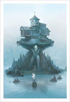 Amulet - Library, Kazu Kibuishi