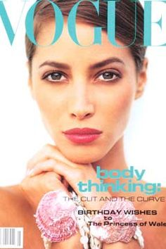 Fashion Magazine Covers - Online Archive for Women (Vogue.com UK) JULY 1991
