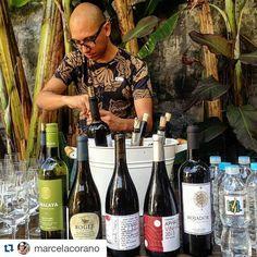 #Repost @marcelacorano with @repostapp  @vinhodeverdade apresentando os seus B.O.N.S. vinhos (Biodinâmicos Orgânicos Naturais e Sustentáveis) hoje na #oficinadoestilodevida promovida pela @hub4lifebr.  Dia delicioso de aprendizagem e de mta troca. #comidadeverdade #lowcarb #LCHF #paleo by vinhodeverdade