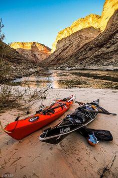Jaime Back From Grand Canyon Sea Kayak Trip Canoe Camping, Canoe And Kayak, Camping Survival, Sea Kayak, Kayak Fishing, Kayaks, Adventure Awaits, Adventure Travel, Trekking