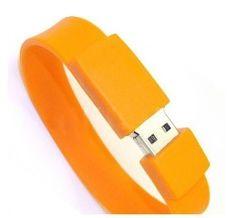 84de45cf13ef Bracelet Wristband High Speed USB Orange Flash Drive never forget it again  Cool Gadgets
