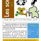 Activity book to study the following French Sounds: C, K, QU, P, M, E (Accent aigü). This document has been created for early French Immersion lear...