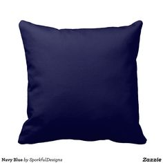Navy Blue Pillows