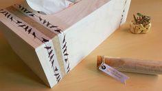 #DIY Sortez les mouchoirs ! Nadege Dzidéesdenana décore une jolie #boîte à #mouchoirs avec #babou