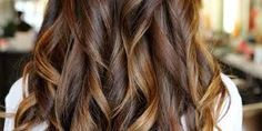 Image result for straight hair highlights