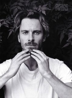 Michael Fassbender photographed by Bruce Weber for Vogue Italia